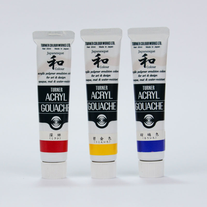 Turner Colour Works Acryl Gouache Japanesque Colour 20ml Tube - J. Silver 380-B