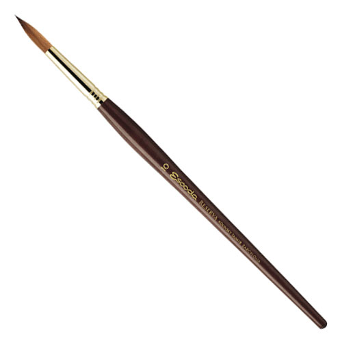 Escoda Reserva Kolinsky-tajmyr Sable Round Brush - Size 5/0