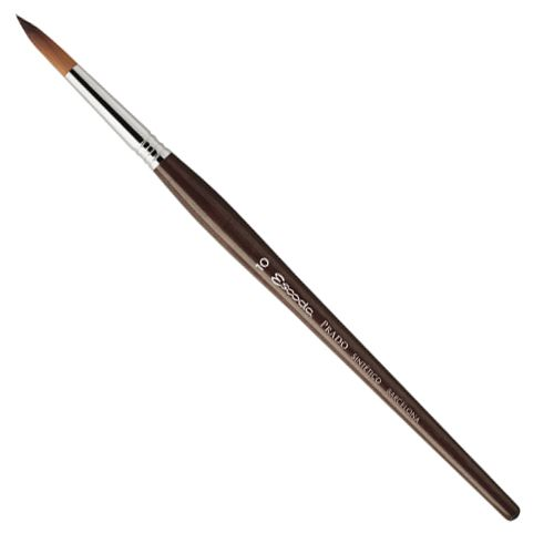 Escoda Prado Tame Synthetic Round Brush - Size 3/0