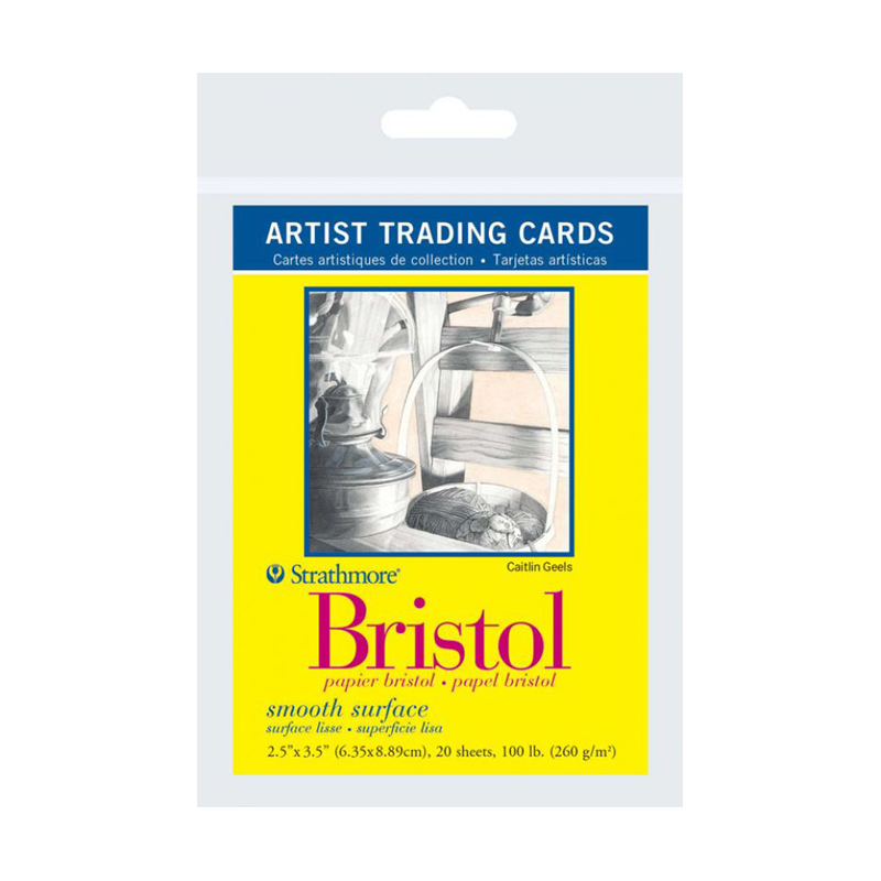 Strathmore 300 Series Bristol Artist Trading Cards - Smooth 2.5