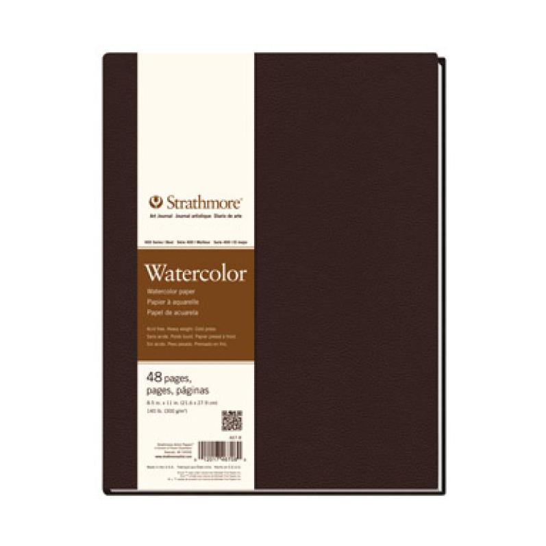 Strathmore 400 Series Watercolor Hardbound Art Journal - Hardbound 8.5