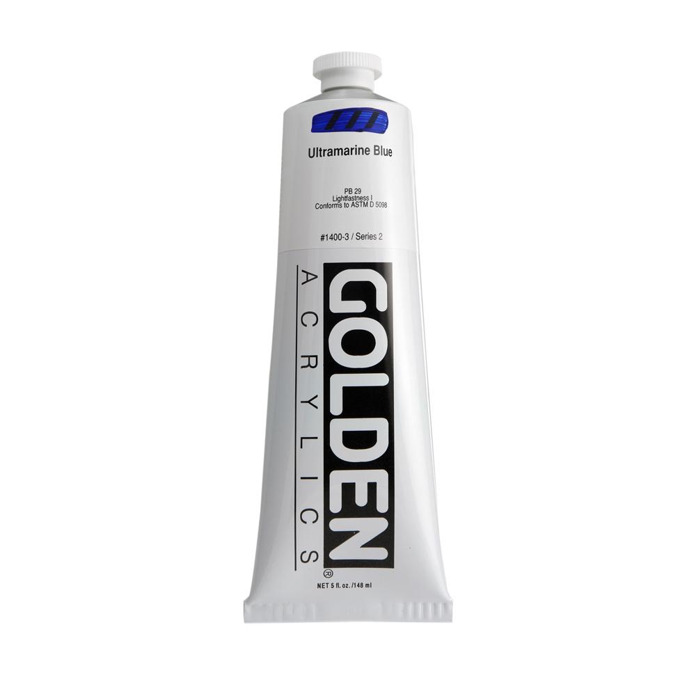 Golden Heavy Body Acrylic Color 148ml Tube - C.P. Cadmium Yellow Light #1120