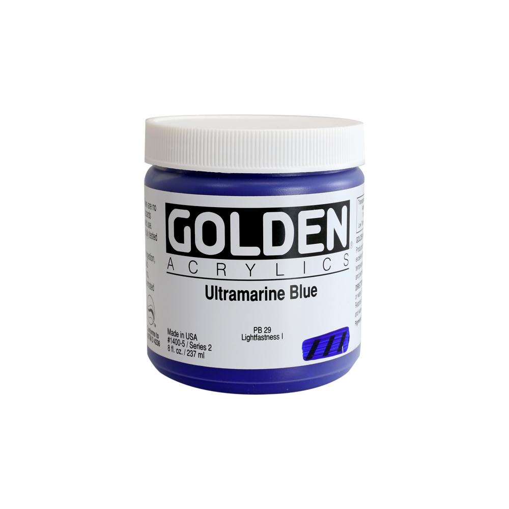 Golden Heavy Body Acrylic Color 237ml Tub - C.P. Cadmium Yellow Medium #1130
