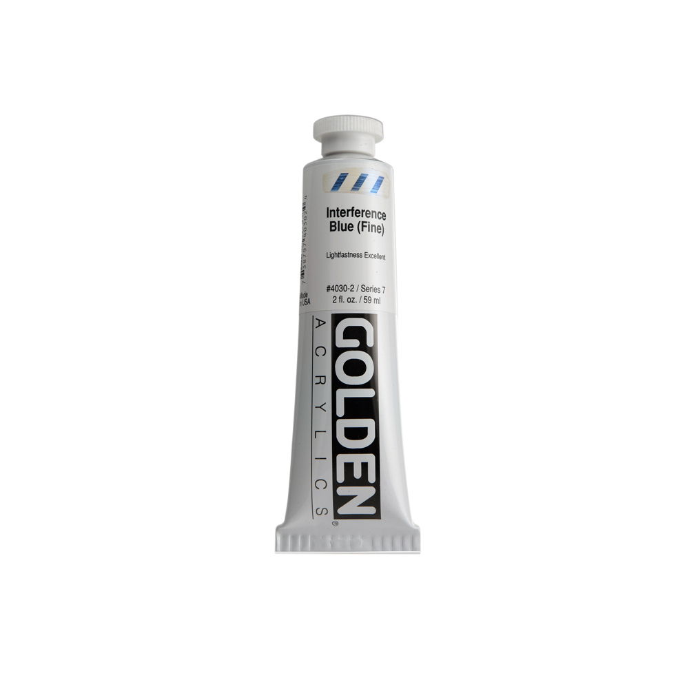 Golden Heavy Body Acrylic Interference Color 59ml Tube - Interference Gold (Fine) #4040
