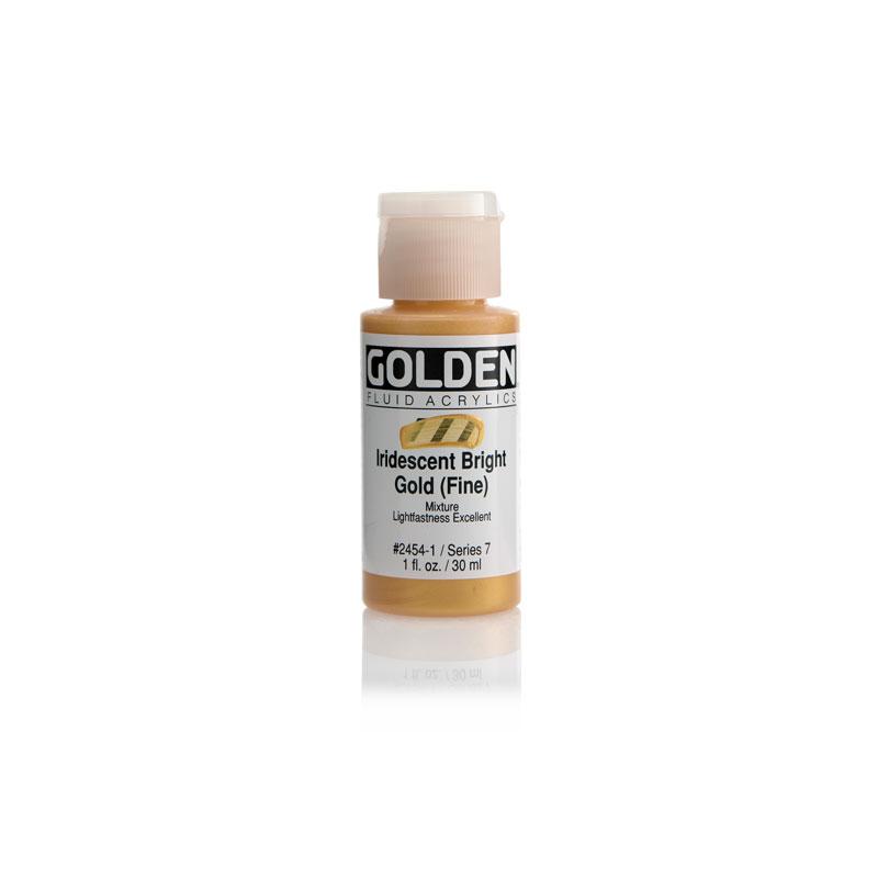 Golden Fluid Acrylic Iridescent Color 30ml Bottle - Micaceous Iron Oxide #2460