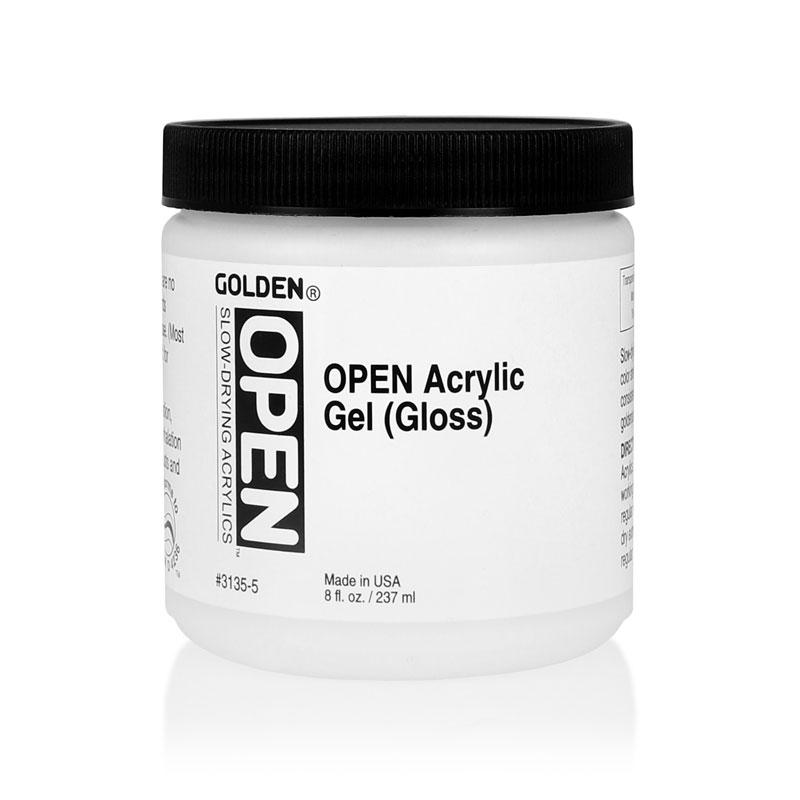 golden open acrylic gel gloss medium artwhale ph