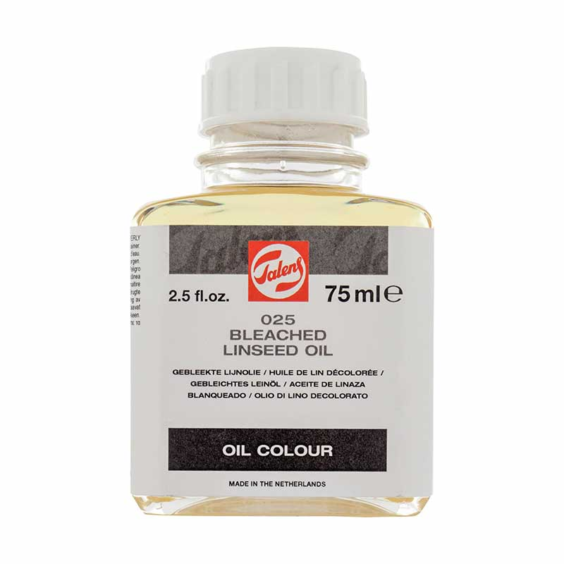 Talens Bleached Linseed Oil 025 - 75ml